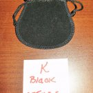 Black Jewelry Bag Pouch 1 Piece (2.75 x 3.5 in) New! #D1029K
