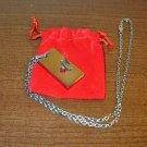 Titanium Capricorn 18 in Unisex Silver Necklace New! #R43