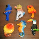 Colorful Collectible Magnets from Cozumel x6 Nice! #R48