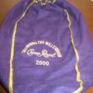 "Collectible Purple Crown Royal Drawstring Bag ""Crowning the Millenmium 2000"" R47"