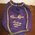 "Collectible Purple Crown Royal Drawstring Bag ""Toast of the Crown 2003"" #R44"