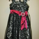 Beautiful Black Lace Dress by Candies Girl Size 10 New! #X277