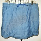 Blue Short Skirt by White Stag Size 18 New! #X279