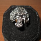 Unique Silver Skull Biker Design Unisex Ring Size 11 New & Hot! #D962