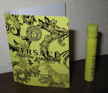 Yellow Diamond Eau de Toilette Deluxe Sample by Versace .03 oz/1 ml New #K62