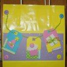 Handmade Gift Bag-Colorful Birthday