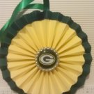 Sports Paper Double Rosette Wall Hanging-Green Bay Packers