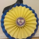 Sports Paper Double Rosette Wall Hanging-Tulsa University