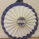 Sports Paper Double Rosette Wall Hanging-Kansas State University