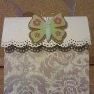 Butterfly Swirls Paper Purse