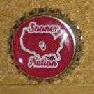 OU Sooners (Oklahoma University) Bottlecap Magnet #4