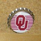 OU Sooners (Oklahoma University) Bottlecap Magnet #1