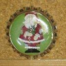 Santa and Snowmen Bottlecap Magnet #4