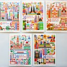 Landmark Postcards Set Of 5