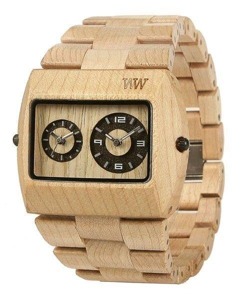WeWOOD Jupiter Beige Watch - Natural Wood Timepiece