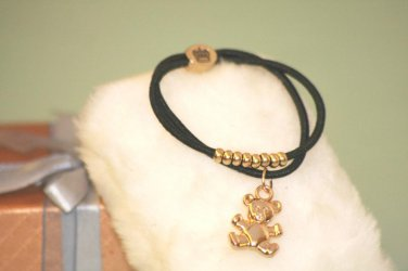 Fashion Style Wristband Bracelet Gold color metal Winnie Logo