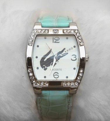 Fashion Crystal Women Leather Watch Quartz Gifts Fashion Luxury