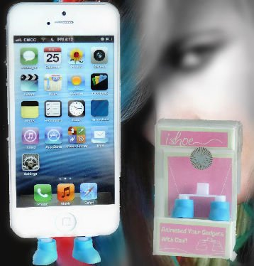 8 Pin Shoes Style Anti Dust Proof Plug For iPhone 5 iPod 5 Port