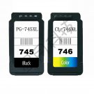 One set Compatible Canon PG-745XL CL-746XL Ink Cartridge