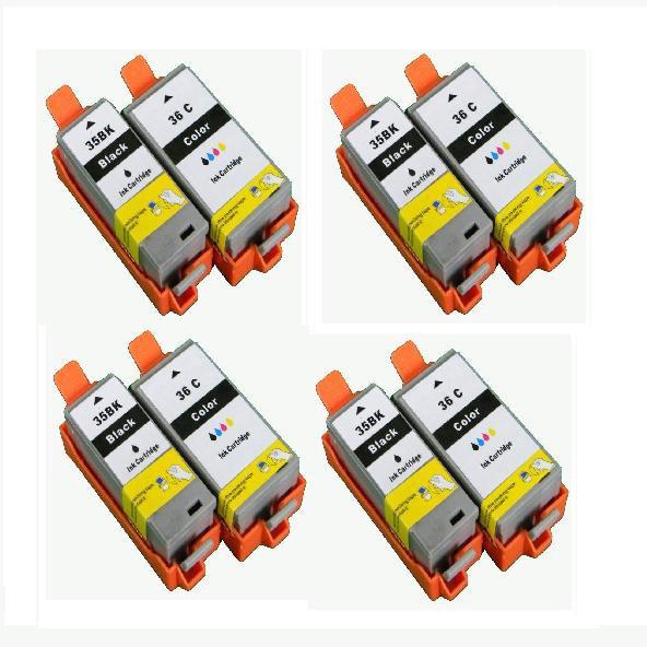 Lot set Canon Compatible Ink cartridge PGI 35 CLI 36