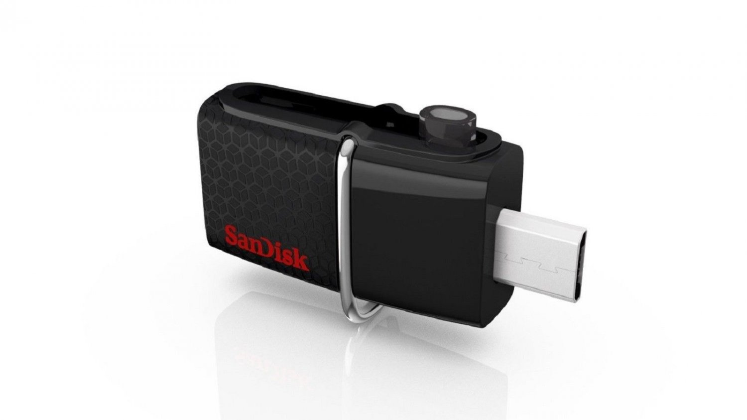 SANDISK ULTRA DUAL OTG 3.0 64GB 130MB/SEC ON-THE-GO USB FLASH DRIVE 130MB/S