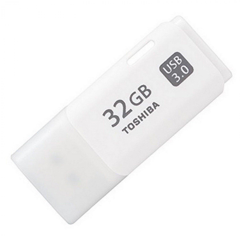 TOSHIBA HAYABUSA WHITE USB 32GB USB 3.0 32G USB FLASH DRIVE