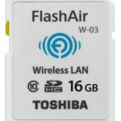 TOSHIBA SDHC FLASHAIR WIFI Class 10 16GB SDHC WIRELESS MEMORY CARD NEW