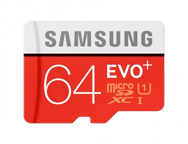 Samsung EVO Plus microSD Card 64g Up to 80MB s read and 20MB s write