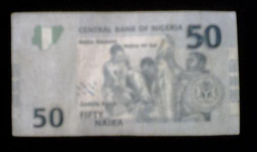 2008 Fifty Naira