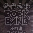 Rock Band Metal Track Pack xbox 360