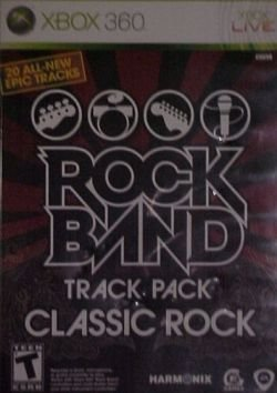 Rock Band Track Pack Classic Rock Xbox 306