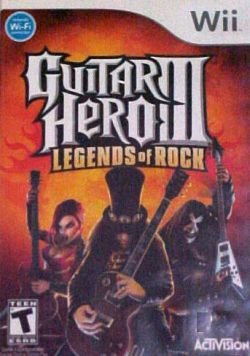 Guitar Hero III: Legends of Rock Nintendo Wii