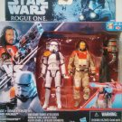 Star Wars Baze Malbus and Stormtrooper Action Figures