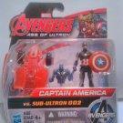 Marvel Comics Avengers Age of Ultron Captain America Vs. Sub Ultron 002 Figure P