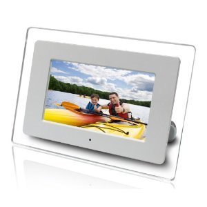 "Axion AXN-9702 -9702 7"" Widescreen LCD Digital Picture Frame w/ Calendar, Alarm"