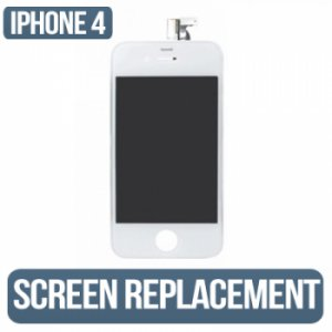 IPHONE 4g (AT&T) White LCD Assembly