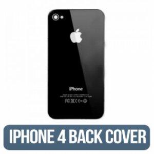 IPHONE 4g (GSM) Back Glass Black