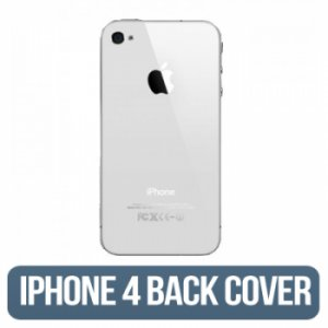 IPHONE 4g (GSM) Back Glass White