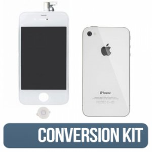 IPHONE 4g (AT&T) White Conversion Kit