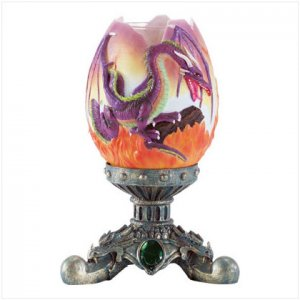 Alab. Dragon Egg Candle Holder