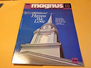 Magnus 12-16 Chord Organ Music Book Old Fashioned Hymns We love Book # 202