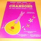Magnus Chord Organ Music Book Chansons Les 23 Plus Belles Livre 213