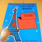 Magnus Chord Organ Music Book Chansons Francaises Pour L'orgue Livre 32