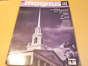 Magnus 12-16 Chord Organ Music Book Hymns we Love Book #202