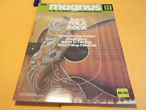 Magnus 12-16 Chord Organ Music Book Best of Folk Rock