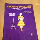 Magnus Organ Books Chansons Populaires 212