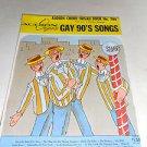 Audion Chord Organ Book No. 1166 , Gay 90's Songs