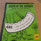 Magnus Chord Organ Music Book #16 South of the Border 1959
