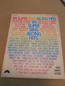 114 Super Sing Along Hits 1975 Screen Gems