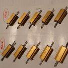 10 Dale Resistor RH - 25 , 25M , 15 ohm , 1%